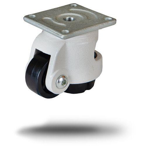 Nylonové přístrojové kolo s přírubou Footcaster, průměr 72 mm, p