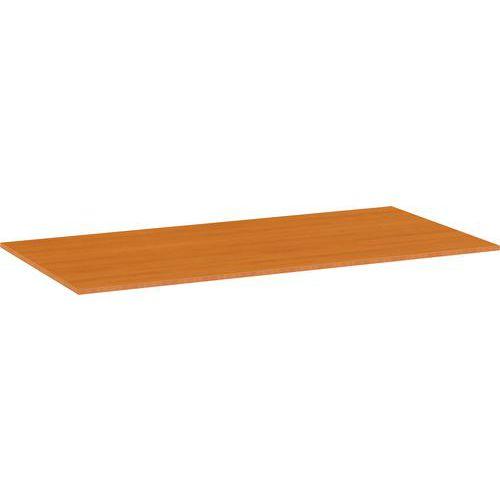 Univerzální deska ke kancelářským stolům, 160 x 80 x 2,5 cm, ABS