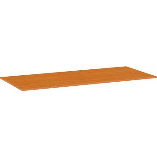 Univerzální deska ke kancelářským stolům, 200 x 80 x 2,5 cm, ABS 2 mm, třešeň - Prodloužená záruka na 10 let
