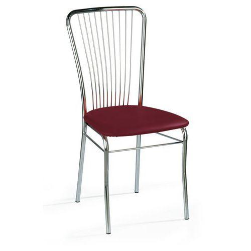 Kožené jídelní židle Neron Chrom