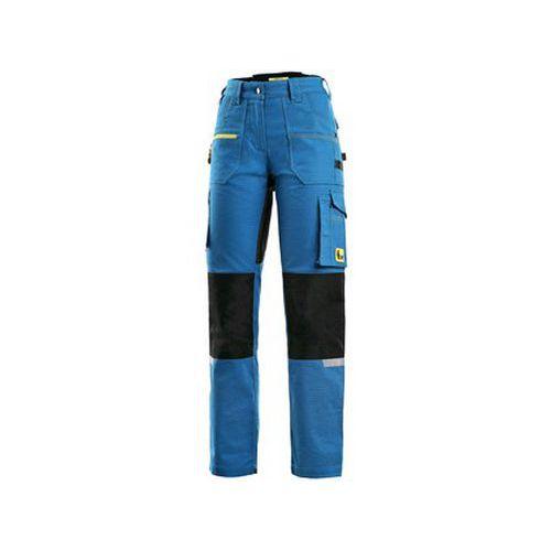 Kalhoty CXS STRETCH, dámské, středně modro-černé