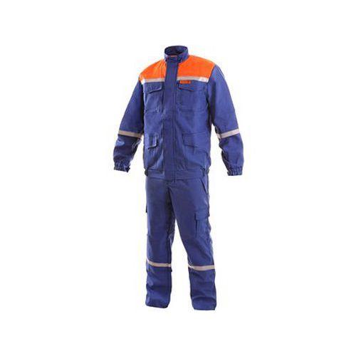 Oděv CXS ENERGETIK MULTI 9043 II, modro-oranžový