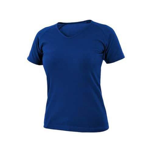 Tričko CXS ELLA, dámské, výstřih do V, krátký rukáv, středně mod