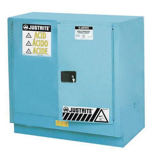 Skříň na nebezpečné látky Justrite Sure-Grip® EX, 889 x 889 x 55