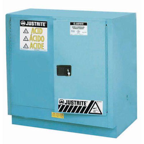 Skříně na nebezpečné látky Justrite Sure-Grip® EX, 889 x 889 x 559 mm