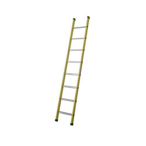 Sklolaminátový žebřík Facal, 8 příček