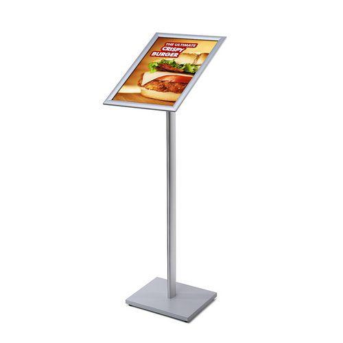 Jansen Display Informační stojan Menuboard, profil 25 mm, ostré rohy, A3
