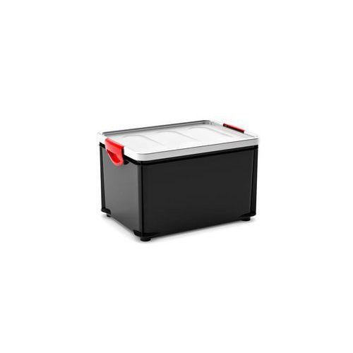 Plastový úložný box s víkem na klip, 32,5 l - Prodloužená záruka na 10 let