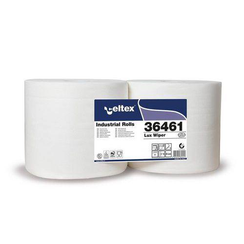 Průmyslová papírová utěrka Celtex White Lux 900, šířka 24cm, 2vrstvy, 2ks