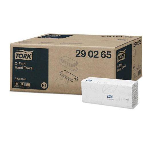 Papírové ručníky skládané Tork C ADVANCED bílé H3, 1krt