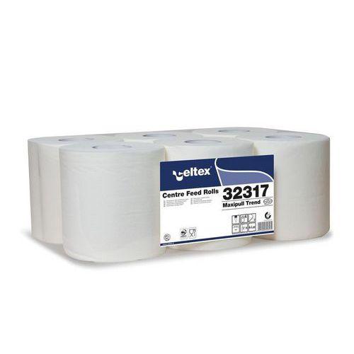 Papírové ručníky v roli Celtex Maxipull Trend 2vrstvy, bílé, 6ks