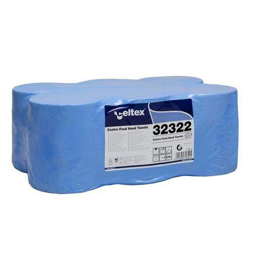 Papírové ručníky v roli Celtex Maxi 2vrstvy, modré, 6ks