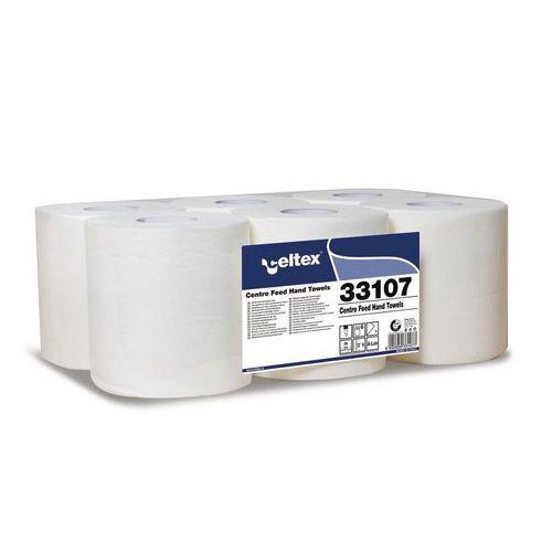 Papírové ručníky v roli Celtex 1vrstva, bílé, 6ks