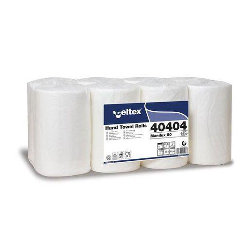 Papírové ručníky v roli Celtex ManiLux 80 bílé, 8ks