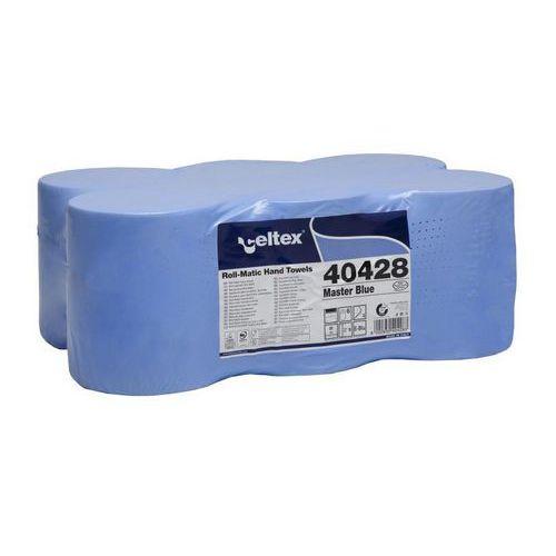 Papírové ručníky v Matic roli Celtex Master Blue 140, modré, 6ks