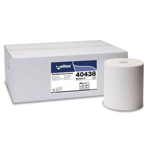 Papírové ručníky v Matic roli Celtex System 3, bílé, 6ks