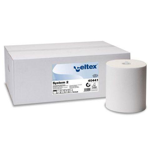 Ručník papírový matic role Celtex System 2, bílý, 6ks