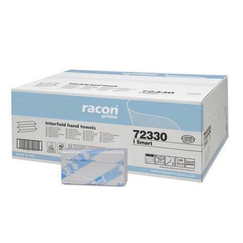 Papírové ručníky skládané Celtex SMART 2vrstvy 75% bělost, bílá, 3200ks