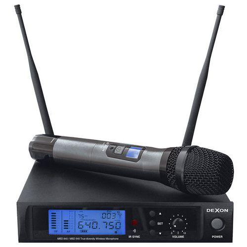 Bezdrátový ruční mikrofon Dexon MBD 840