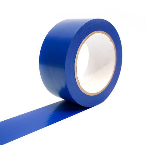 Podlahová páska C-tape, šířka 50 mm, modrá