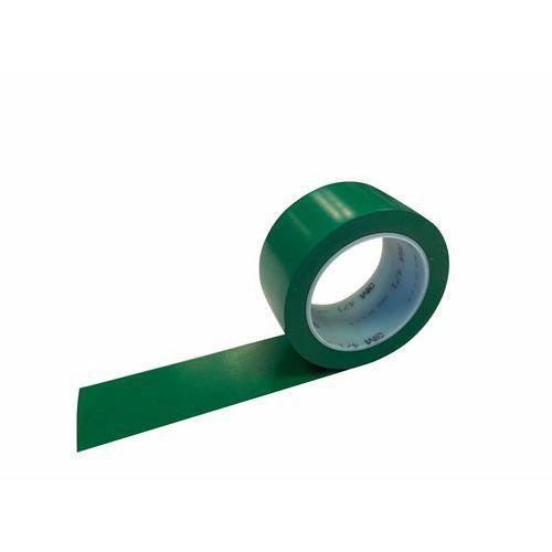Označovací PVC páska 3M, zelená