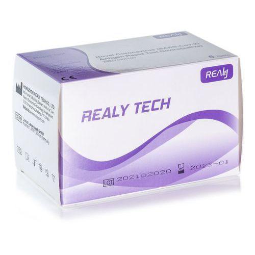 HANGZHOU REALY TECH CO., LTD - Novel Coronavirus (SARS-Cov-2) Antigen Rapid Test Device (saliva) - 5 ks
