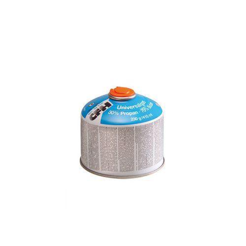 Směsný plyn propan/butan, šroubovací, 230 g/410 ml
