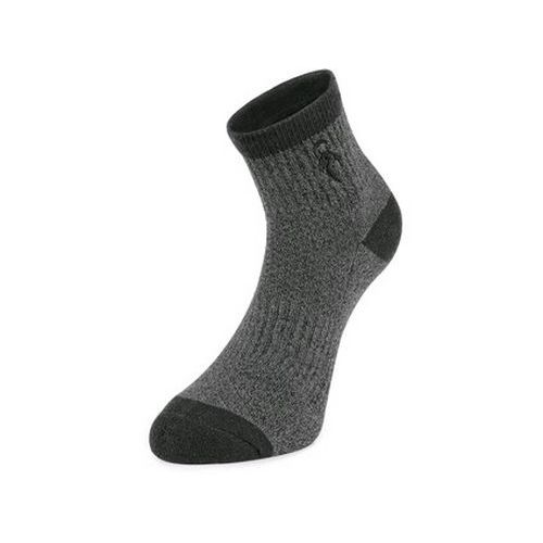 Ponožky CXS PACK II, tmavě šedé, 3 páry