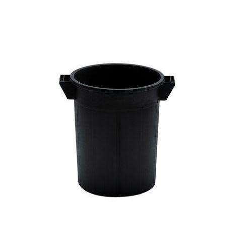 Plastový kulatý kontejner, recyklovaný HDPE, 50 l
