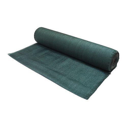 TOPTRADE Síť stínící, zelená, 1 x 10 m, 220 g / m2