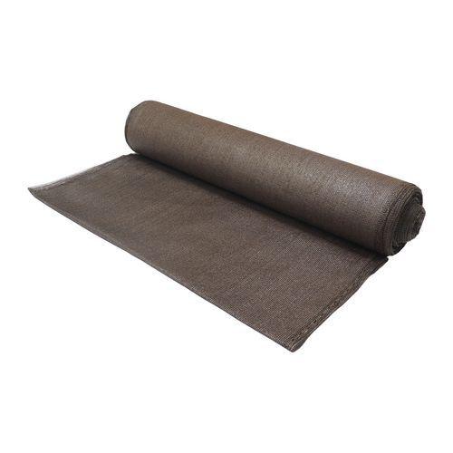 TOPTRADE Síť stínící, šedá, 1 x 10 m, 150 g / m2