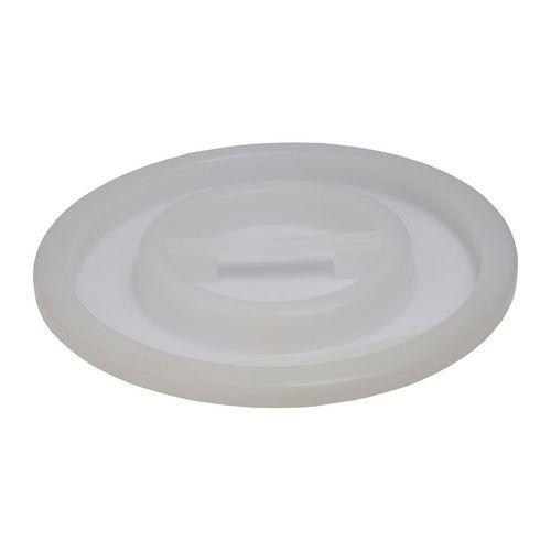 Víko plastové, bílé, na sud 75 l