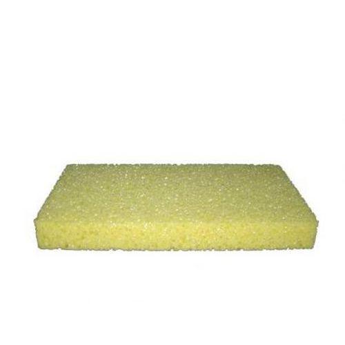 TOPTRADE povrch náhradní, mořská houba, extra, řezaná, 250 x 130 x 30 mm