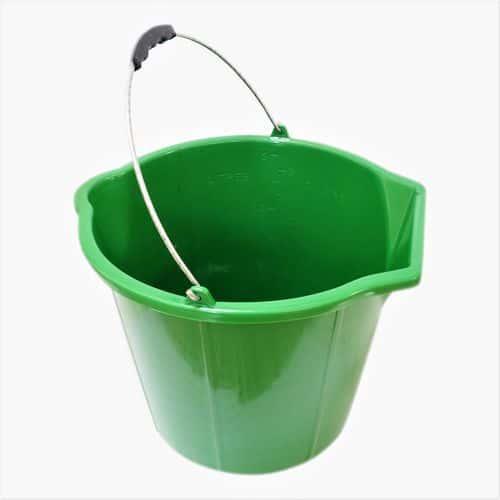 TOPTRADE vědro zednické, plastové, na sypké hmoty, 15 L