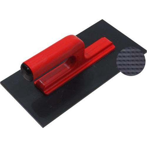 TOPTRADE hladítko ABS, plastové, velmi jemný rastr, s otevřenou rukojetí, 270 x 130 mm