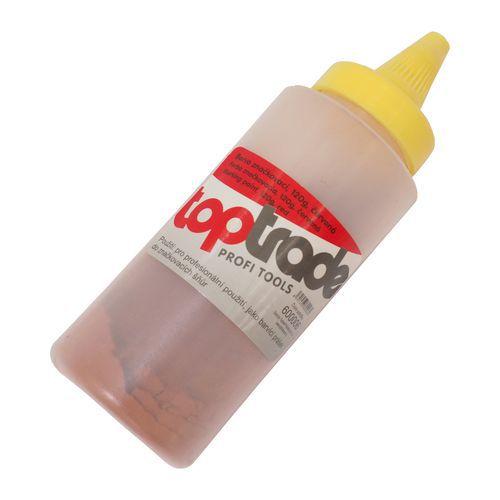 TOPTRADE barva do značkovací šňůry, červená, 120 g