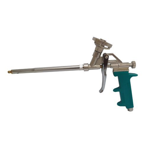 TOPTRADE pistole celokovová, na PU pěnu, profi