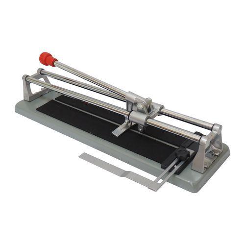 TOPTRADE řezačka na obklady, s lámačkou a úhelníkem, 600 mm, standard