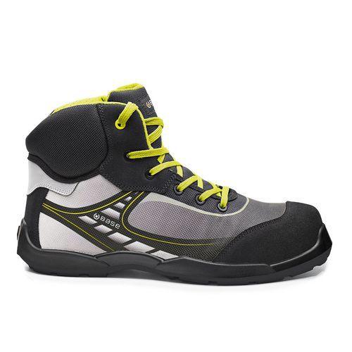 Obuv BASE Bowling Top/Tennis Top, černá/žlutá