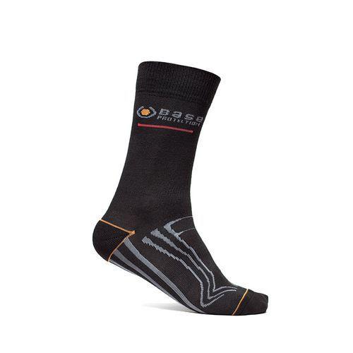 Ponožky 600 Short, černá/šedá