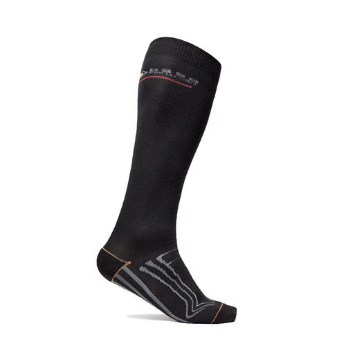 Ponožky 600 Long, černá/šedá