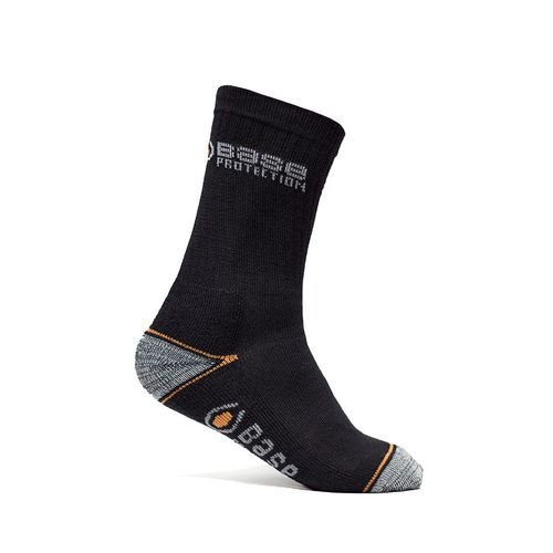 Ponožky 400 Short, černá/šedá