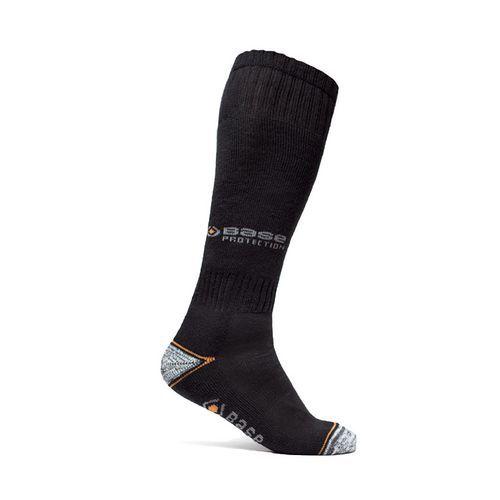 Ponožky 400 Long, černá/šedá