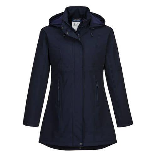 Softshellová bunda Carla, modrá