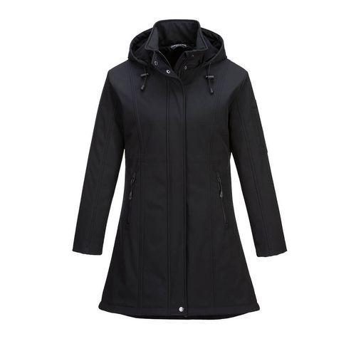 Softshellová bunda Carla, černá
