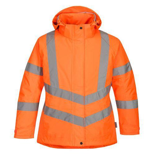 Dámská zimní bunda Hi-Vis, oranžová